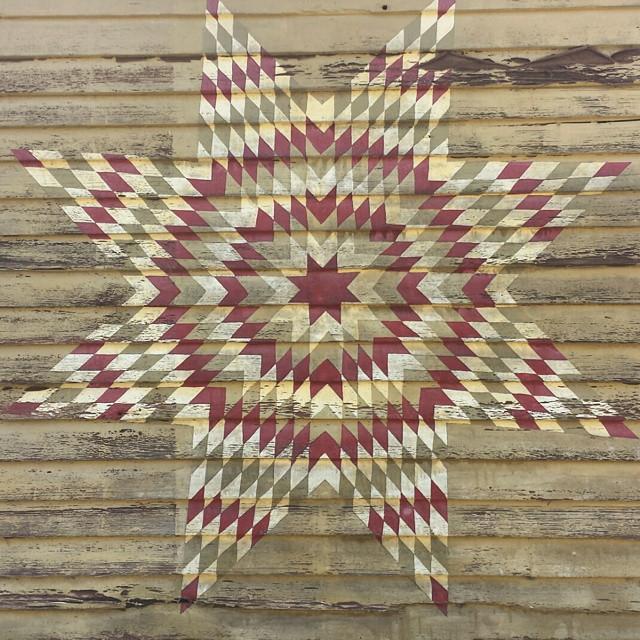 Tillamook Barn Quilt Trail Star Quilt