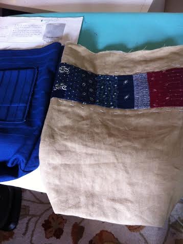 Tote Bag in progress